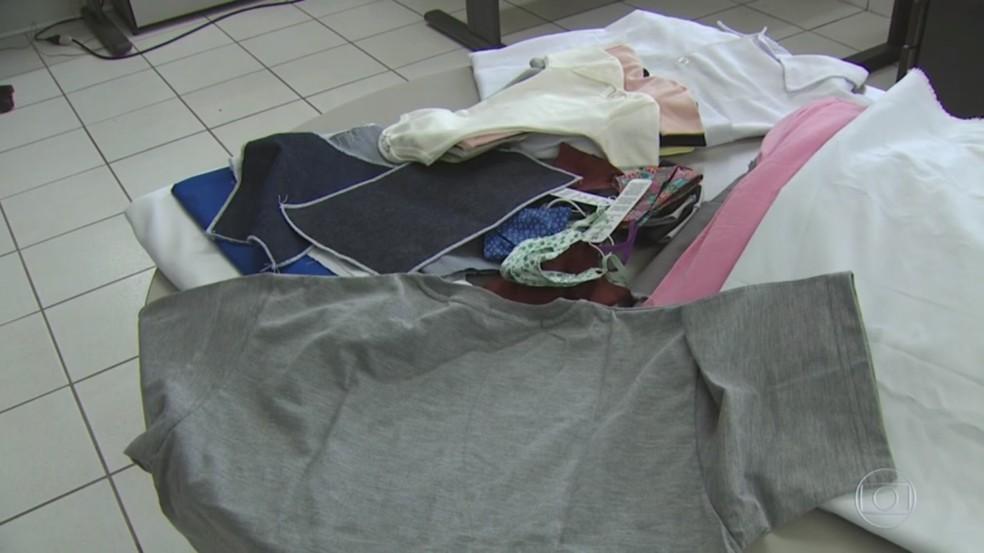 Tecnologia desenvolvida em São Carlos pode ser aplicada em qualquer tipo de tecido — Foto: Marlon Tavoni/EPTV