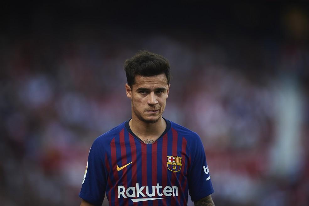 Philippe Coutinho pode deixar o Barcelona — Foto: Getty Images