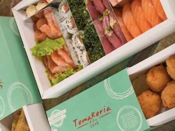Temakeria: promoção no delivery