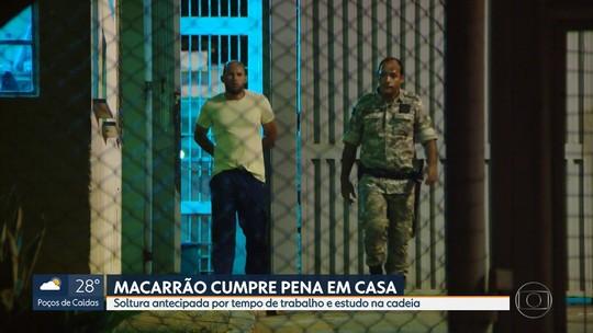 Macarrão, condenado pelo homicídio de Eliza Samudio, sai da prisão
