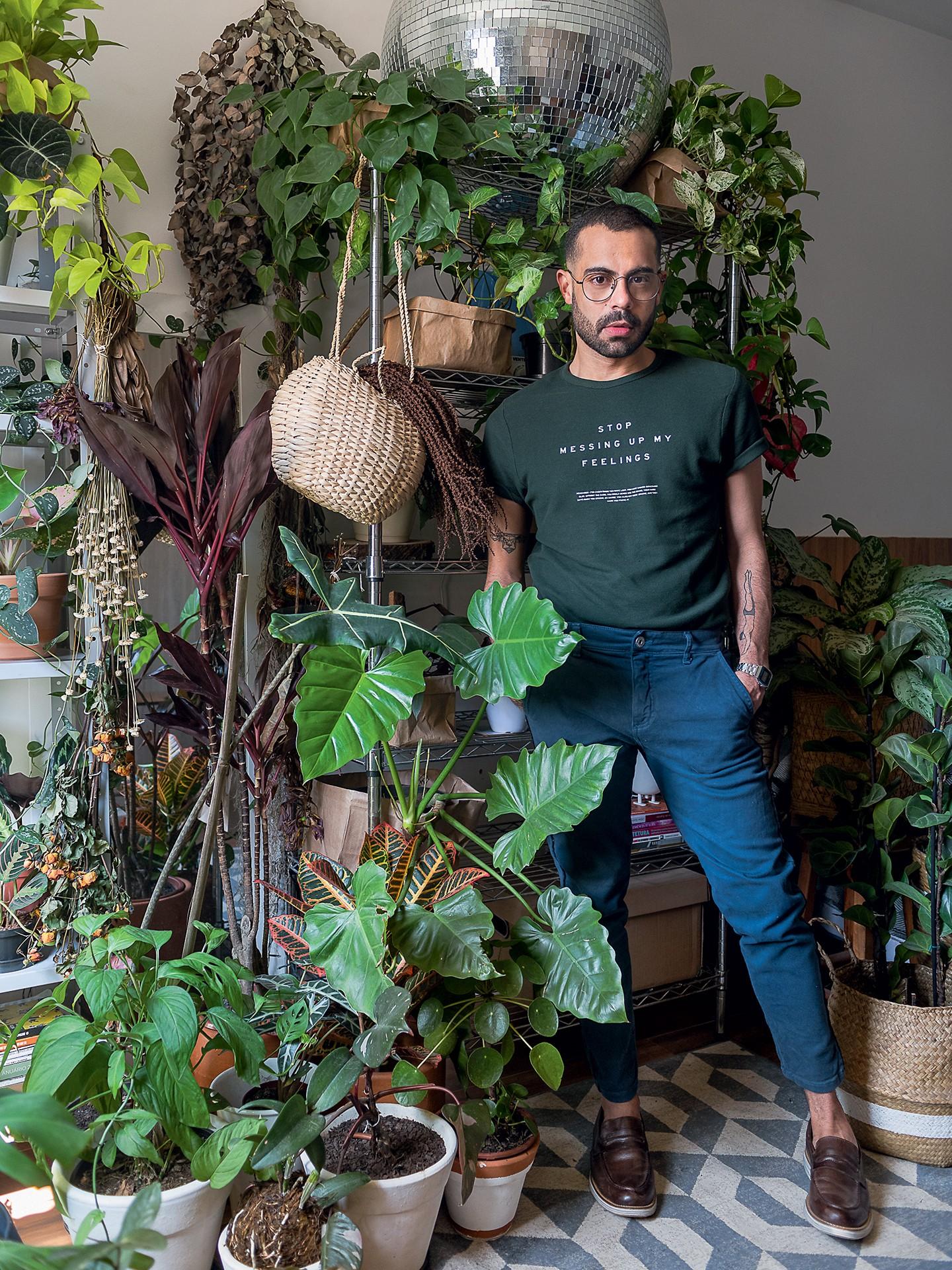 5 apaixonados por plantas que você precisa conhecer (Foto: Wesley Diego Emes)
