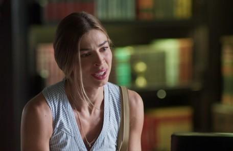 Na terça-feira (3), Paloma (Grazi Massafera) acusará Silvana (Ingrid Guimarães) de ter sido a causadora do mal-estar de Alberto (Antonio Fagundes) TV Globo