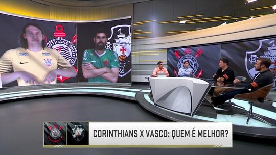 Quem é melhor? Corinthians leva vantagem sobre o Vasco no Seleção SporTV