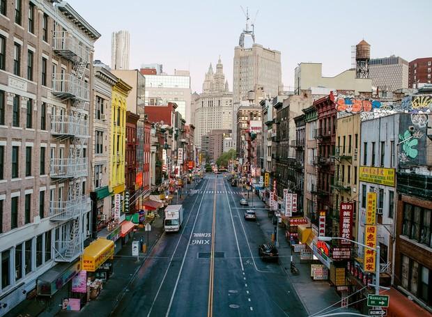 Chinatown, em Manhattan, Nova York (Foto: Divulgação)