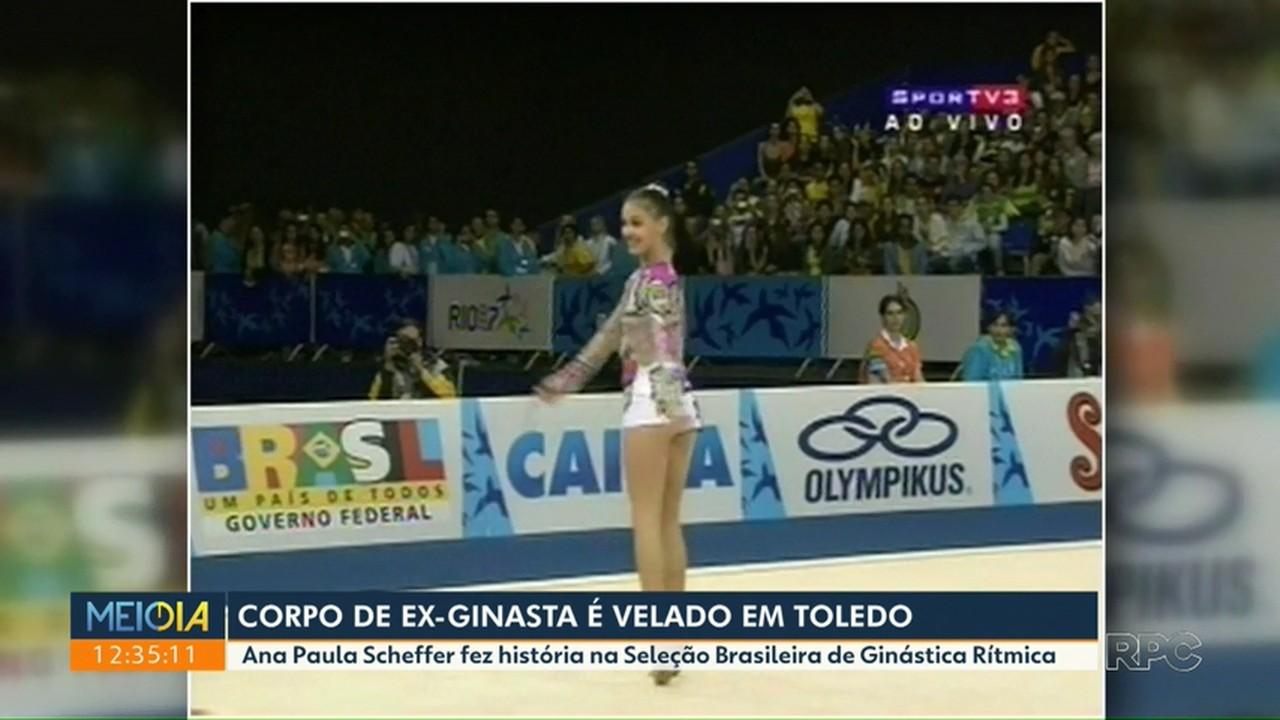 Corpo de ex-ginasta é velado em Toledo