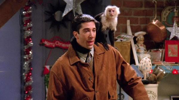 Marcel, o companheiro de Ross em Friends (Foto: divulgação)