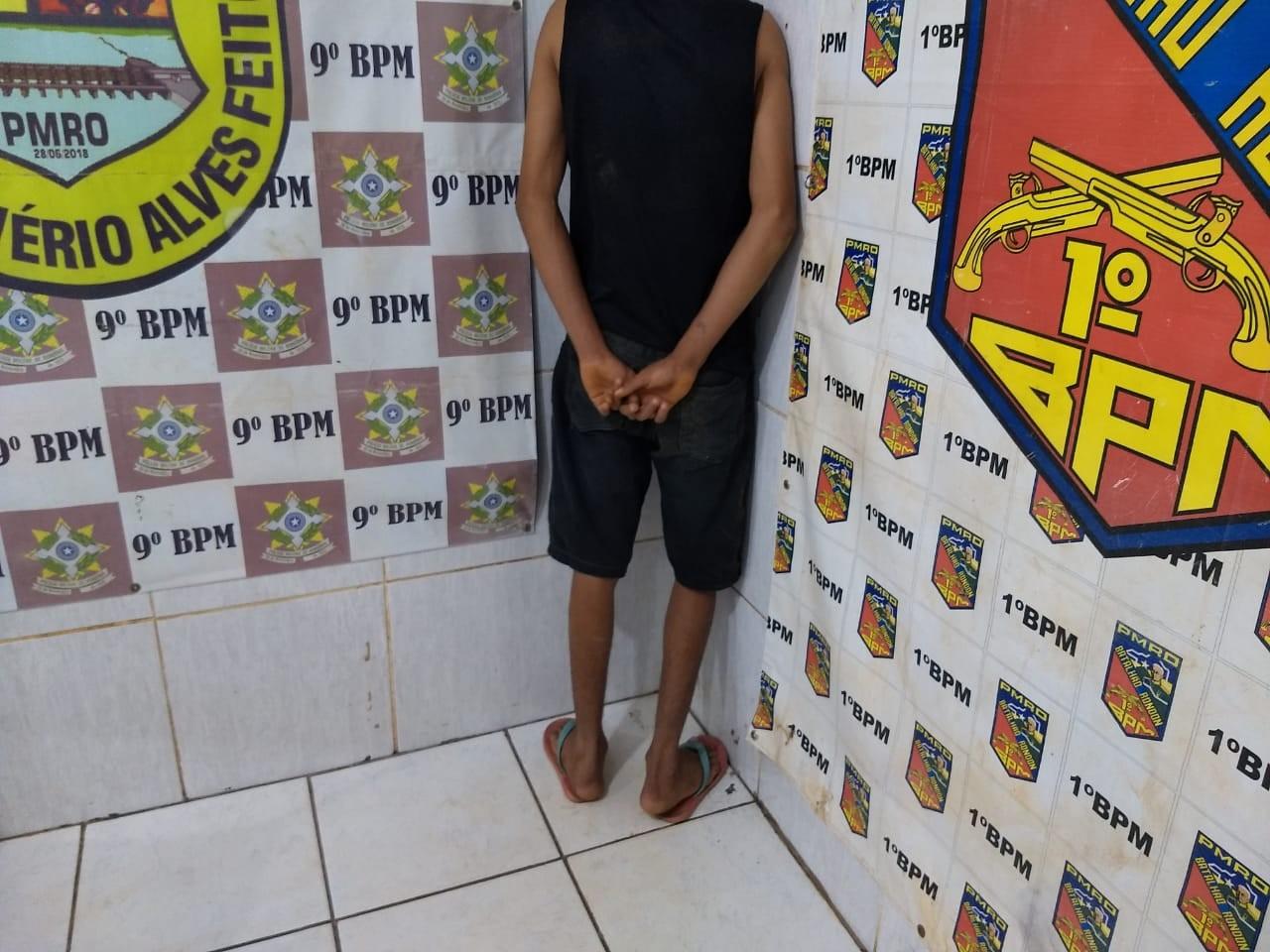 Adolescente é apreendido por roubo a 5 dias do aniversário de 18 anos, em RO - Notícias - Plantão Diário
