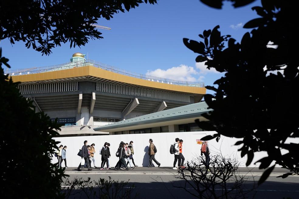 Budokan, sede do judô nas Olimpíadas de Tóquio — Foto: Getty Images