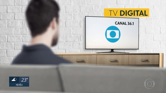 Canal da Globo muda para quem tem TV digital em Chã Grande, na Zona da Mata de PE
