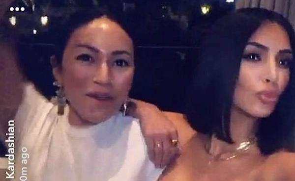 Kim Kardashian com sua amiga e ex-assistente Stephanie Shepard (Foto: Instagram)