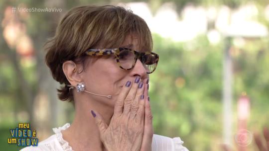 Natália do Vale se emociona ao relembrar carreira no 'Vídeo Show'