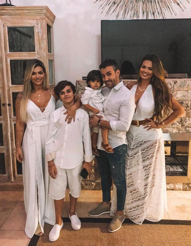 Kelly Key e família (Foto: Instagram/Reprodução)
