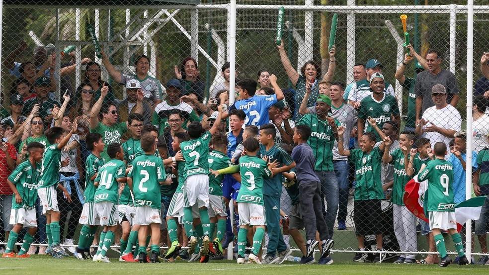 696d06010d ... Palmeiras sub-11 está classificado para a final do Paulistão  Verdão na  decisão das