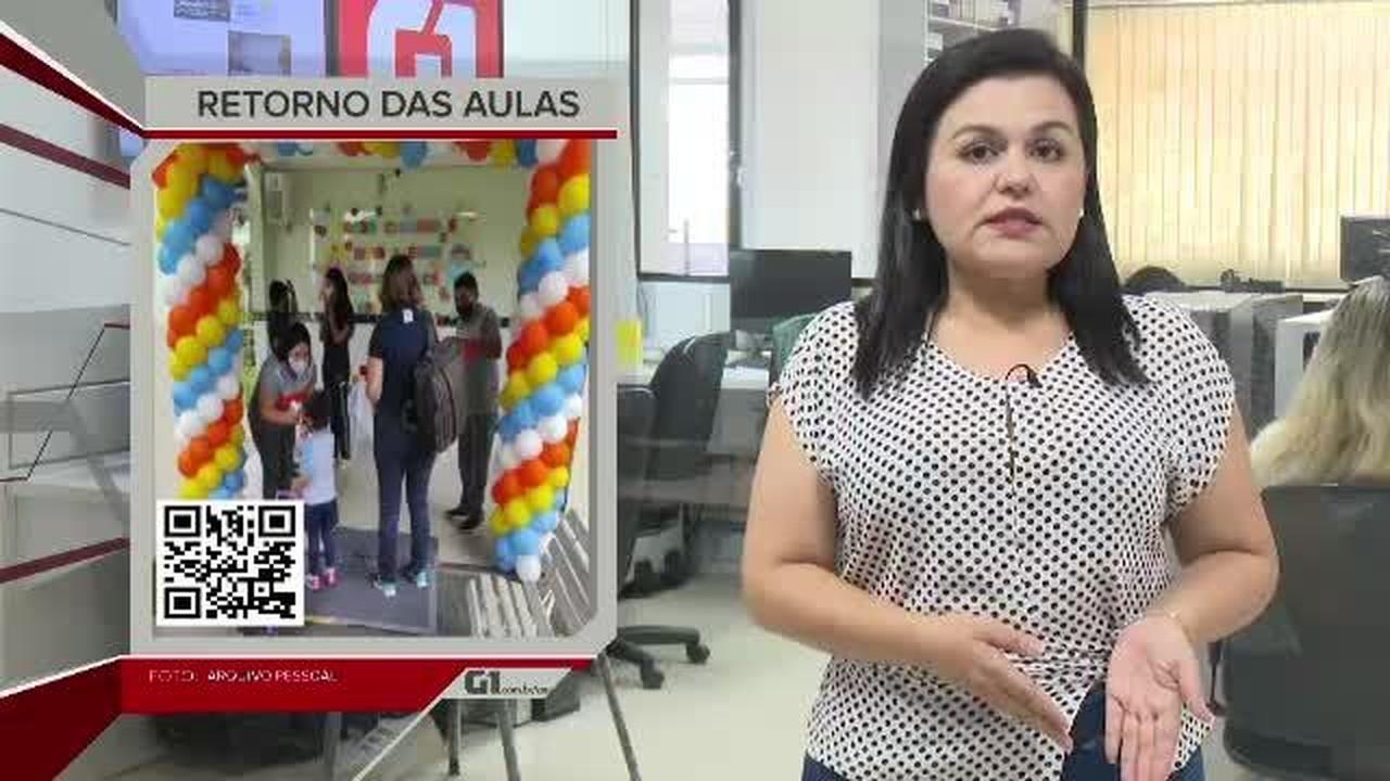 G1 em 1 Minuto - AC: Escolas particulares iniciam ano letivo com ensino presencial