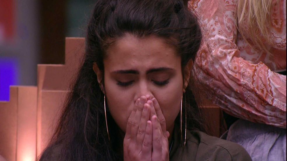 Hana é a terceira eliminada do BBB19 — Foto: TV Globo