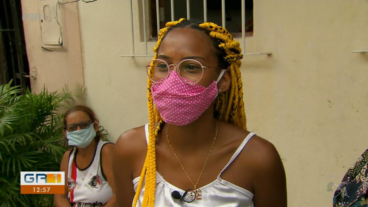 Adolescente do Recife sonha em ser cantora lírica