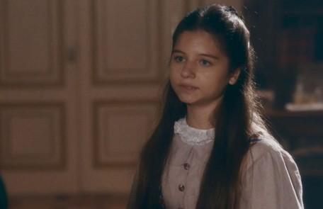 Na sexta-feira (17), Leopoldina (Melissa Nóbrega) afirma a Teresa que gostaria de ser filha de Luísa TV Globo