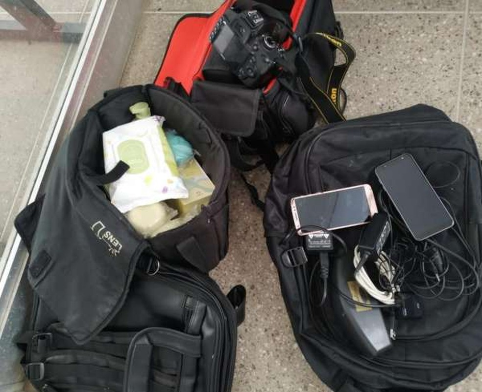 Polícia prende grupo e recupera equipamentos roubados de escola no Crato. — Foto: SSPDS/ Divulgação