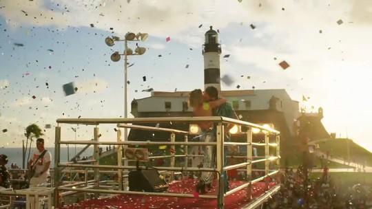Carnaval do início ao fim: 'Segundo Sol'  termina com cena no trio elétrico