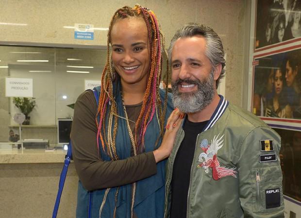 Luciana Mello e o marido, Ike Levy (Foto: Francisco Cepeda/AgNews)
