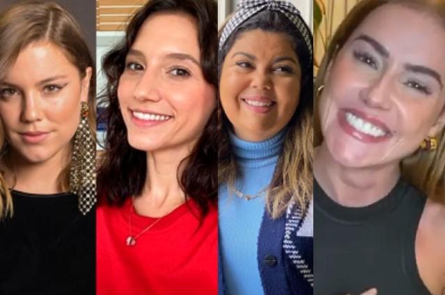 Alice Wegmann, Lorena Comparato, Fabiana Karla e Deborah Secco (Foto: Reprodução)