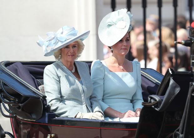 Camilla e Kate Middleton  (Foto: Getty Images)