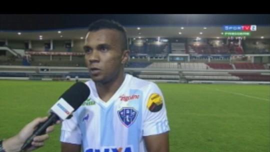 """Magno comemora gol e empate: """"Pelas circunstâncias, ficou de bom tamanho"""""""