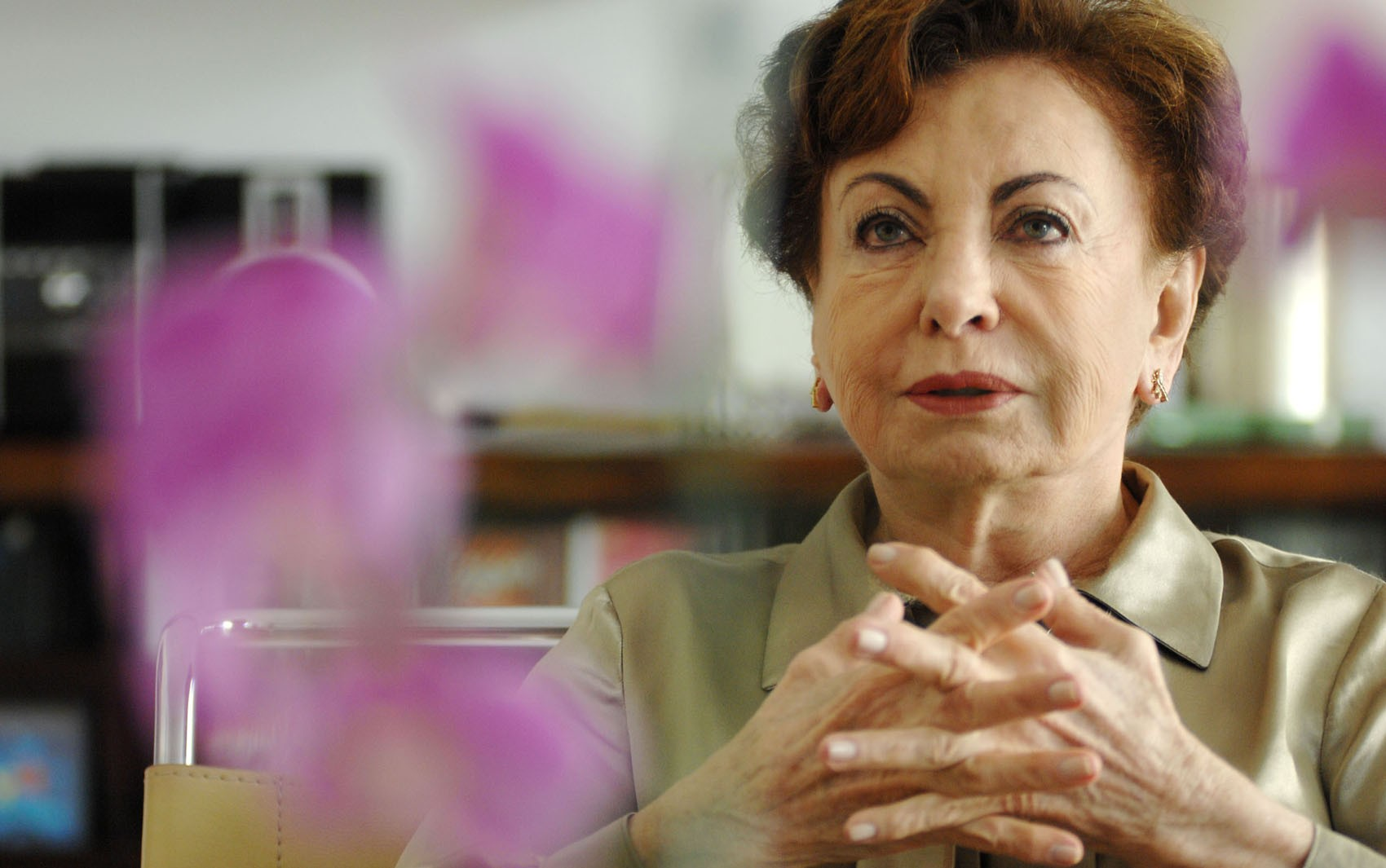 Atriz Beatriz Segall tem alta de hospital em São Paulo 2