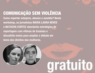 Workshop: jornalismo feminista na cobertura das violências contra meninas e mulheres