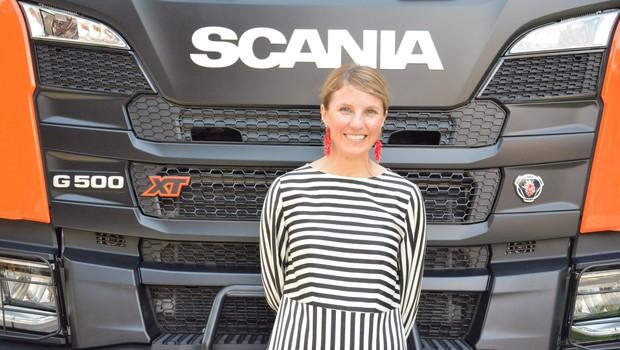 Karin Rådström, diretora de vendas e marketing do Grupo Scania (Foto: Divulgação)