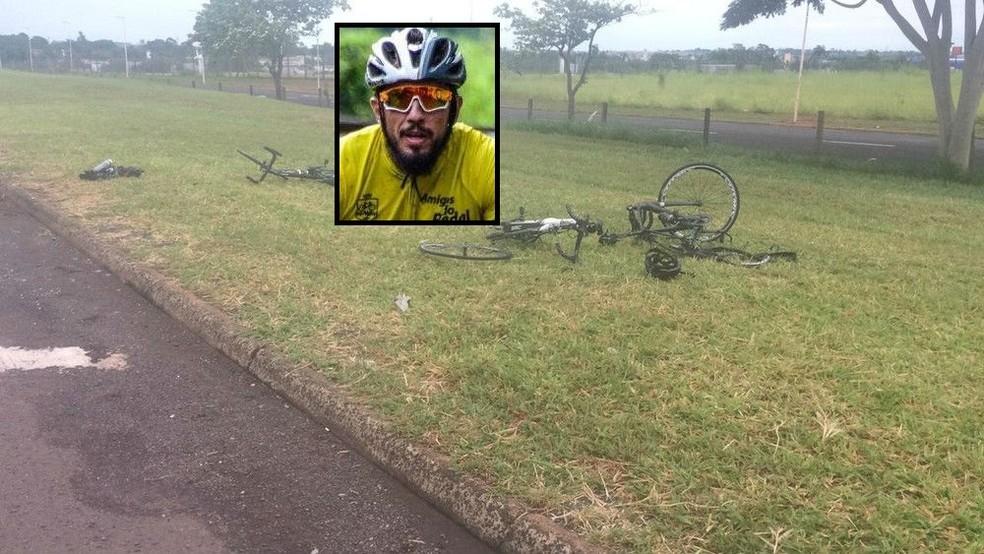 Ciclista morre e três ficam feridos após atropelamento — Foto: Arquivo pessoal
