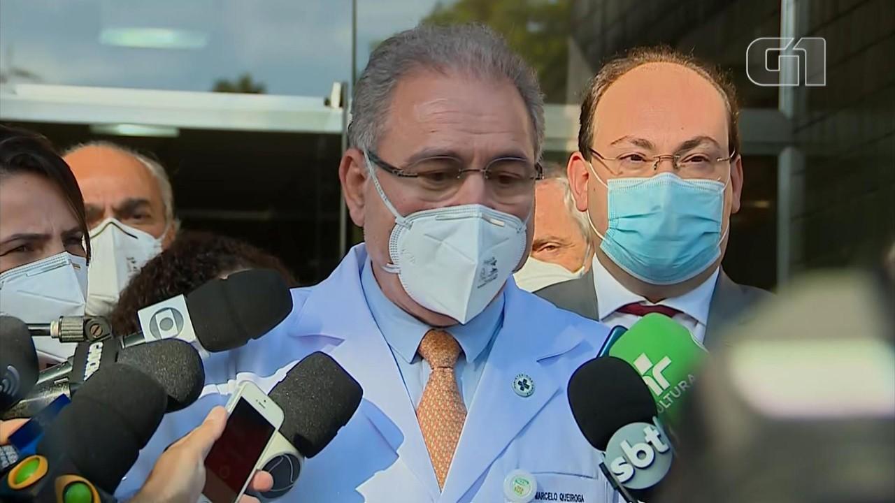 Em visita ao RS, ministro da Saúde comenta projeto de compra de vacinas por empresas