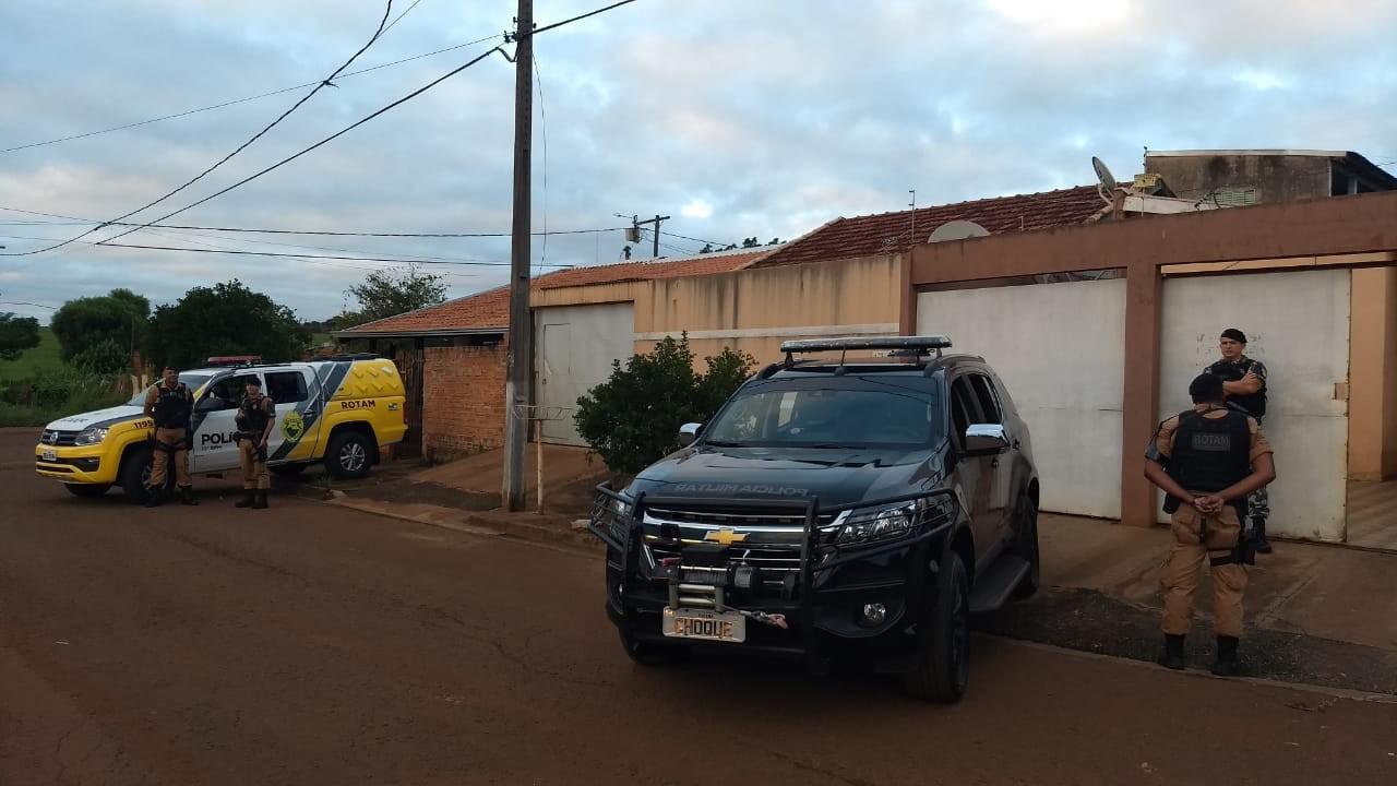 Três homens são presos em operação contra grupos que disputam controle do tráfico de drogas em Londrina - Noticias
