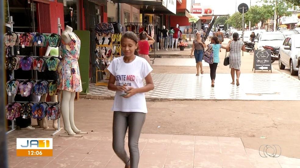 a0688badb ... Avenida Tocantins é a maior da região sul de Palmas — Foto   Reprodução TV