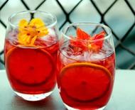 Drinque 'Olá Primavera' leva gin, aperol e suco de frutas