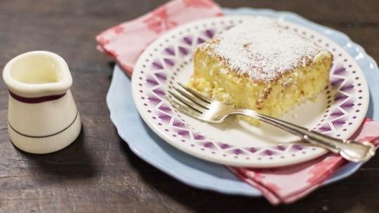 Confira a receita de bolo gelado de coco