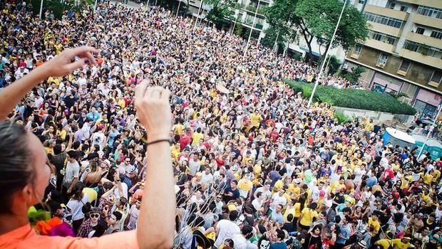 Carnaval na Praça Roosevelt: proibição da gestão Doria para blocos e shows (Foto: Agência Brasil/Arquivo)