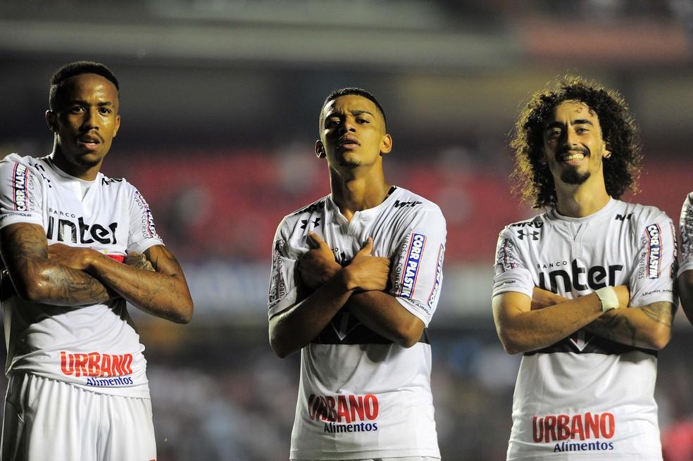 Eder Militão, Brenner e Valdívia: destaques do São Paulo na partida de quarta-feira (Foto: Marcos Ribolli)