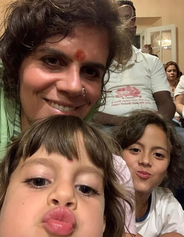 Mariana Maffeis é mãe de Joana, 9, e Maria, 5 (Foto: Playback / Instagram)