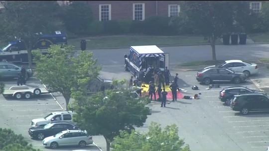 Ataque a tiros deixa 11 mortos e seis feridos em Virginia Beach, nos EUA