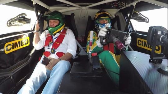 """Galvão, sobre volta com Cacá na Stock Car a 250km: """"Foi uma emoção espetacular"""""""