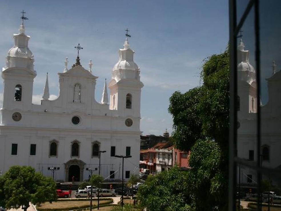 Igreja Sé Belém Catedral Metropolitana Belém Pará — Foto: Paula Sampaio/O Liberal