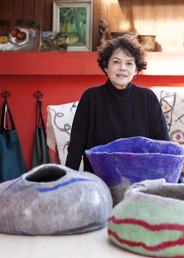 Já ouviu falar de sabonete de feltro? Designer Inês Schertel explica (Foto: Fifi Tong / Divulgação)