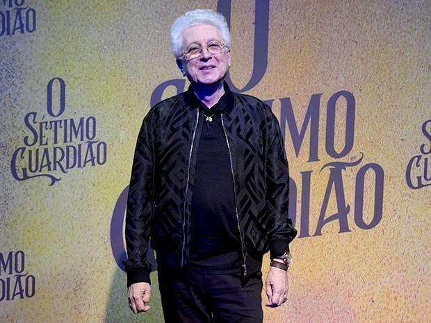 Aguinaldo Silva (Foto: Cesar Alves / Globo)