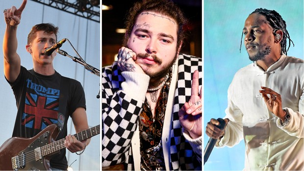 Arctic Monkeys, Post Malone e Kendrick Lamar (Foto: Getty Images)