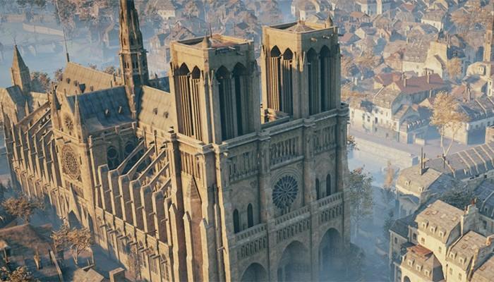 Notre-Dame também foi representada no Assassin's Creed Unity (Foto: Reprodução/Assassin's Creed Unity)