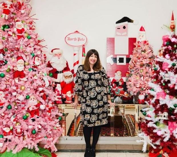 """""""Queria poder viver neste país das maravilhas do inverno rosa-a-licious o ano todo"""", diz Jen Perkins (Foto: Reprodução/ Instagram)"""
