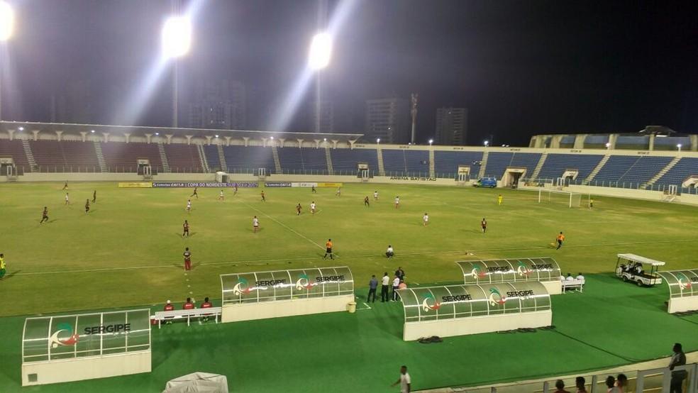 Sergipe x Vitória, Copa do Nordeste Sub-20 (Foto: Felipe de Pádua)