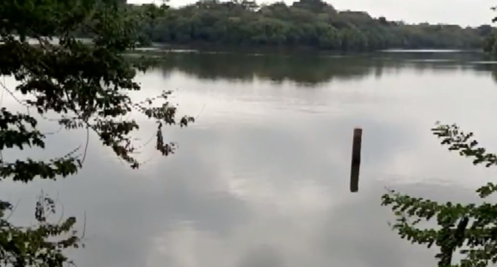 Represa reserva é utilizada em Iracemápolis a dois meses antes do esperado — Foto: Reprodução