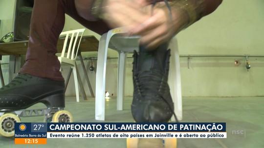 Atletas se preparam para etapa sul-americana de campeonato de patinação artística